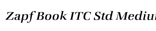 Zapf Book ITC Std