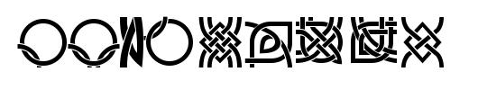 Border Font Culturals