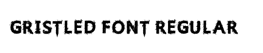 Gristled Font