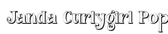 Janda Curlygirl Serif