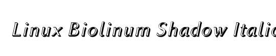 Linux Biolinum Capitals