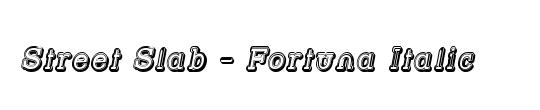 Street Slab - Fortuna