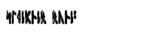 Runic MT Condensed