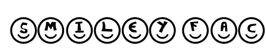 Smileyface Font 3