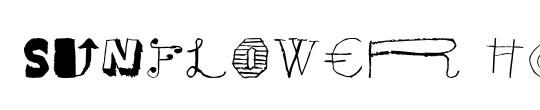 Brown Sunflower Serif