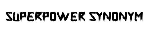 Superpower Synonym