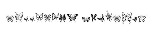 Tribal Butterflies