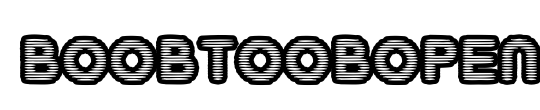 BoobToobOpen