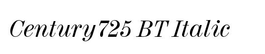 Century725 BT