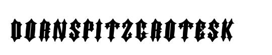 DornspitzGrotesk