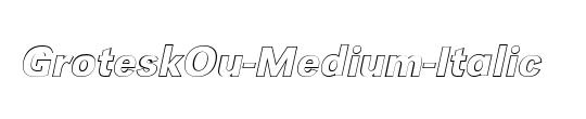 GroteskOu-Medium