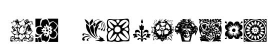 HFF Floral Stencil