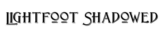 TypoSlab Irregular Shadowed Demo