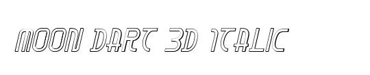 Moon Dart Bold Italic