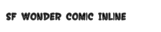 SF Wonder Comic Inline