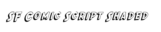 SF Comic Script Condensed