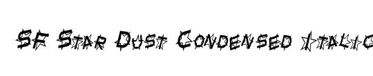 Star Dust Condensed
