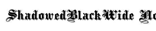 ShadowedBlackWide
