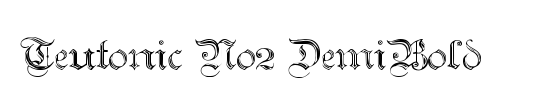 Teutonic No2