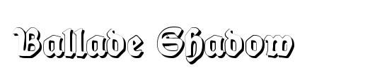 Ballade Shadow
