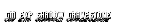 GM Exp Shadow Gravestone