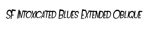 SF Intoxicated Blues