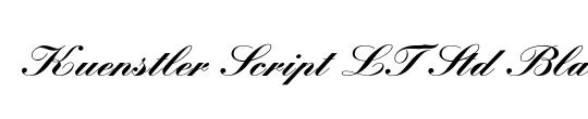 Kuenstler Script LT Std