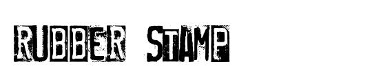 Rupture Stamp