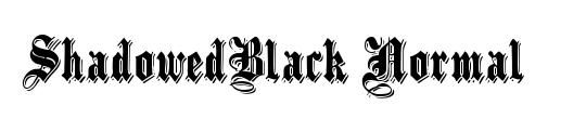 ShadowedBlack