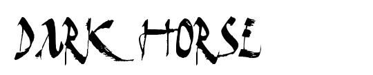 Dark Horse Shadow