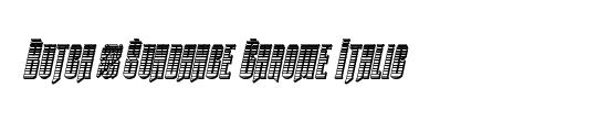 Butch & Sundance Bold Italic