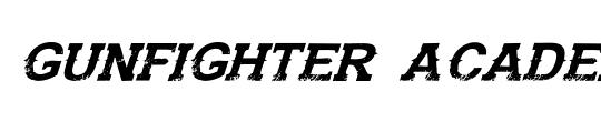 Warp Thruster Academy Italic