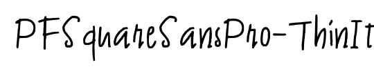 JAMES FONTS