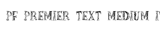 PF Premier Text Light