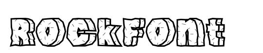 RockFont