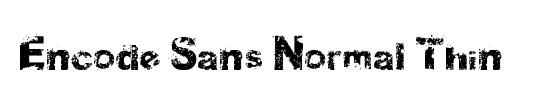 Encode Sans Normal