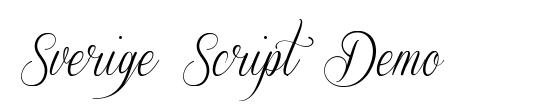 Sverige Script Demo