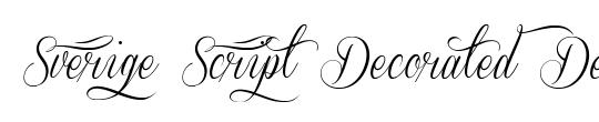 Sverige Script Decorated Demo