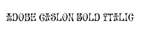 ACaslon Bold