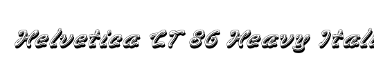 HelveticaNeue LT 65 Medium