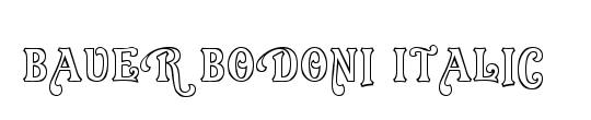 BauerBodoni LT