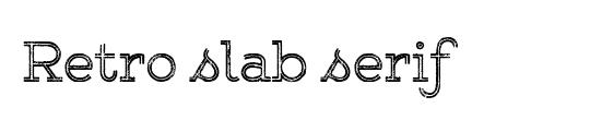 WLM Slab-Serif