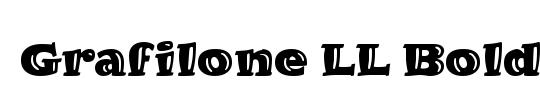 GrafiloneLL Bold