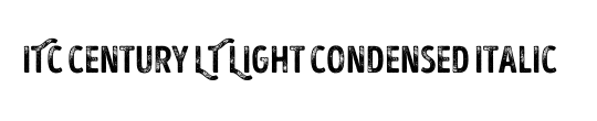 ITCCentury LT LightCond