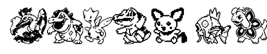 Pokemon pixels 2
