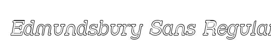 Edmundsbury Sans Regular