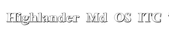 Highlander Md OS ITC TT