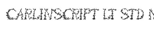 CarlinScript LT Std BoldIt
