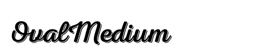 OvalMedium