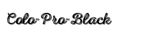 Colo-Pro-Black